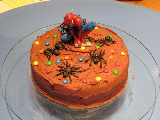 Spiderman Cake 2
