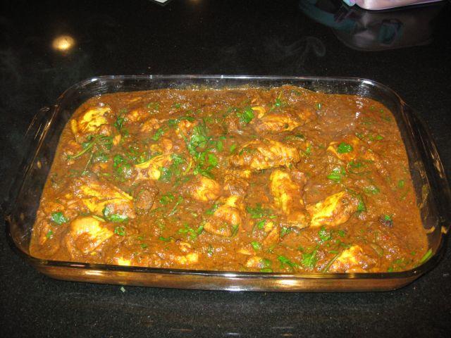 Maya's Chhant Chicken Curry