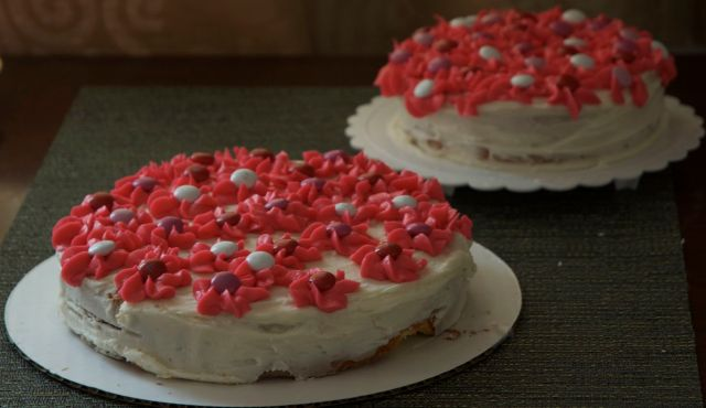 The Pinkalicious Flower Cakes