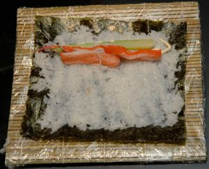 Add some imitation crab sticks