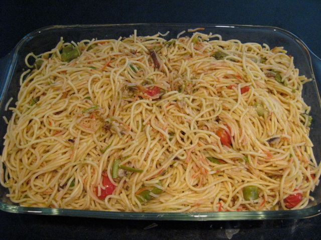Asparagus and Mushroom Pasta
