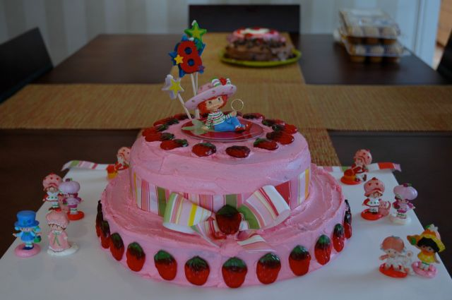 Incredible Strawberry Shortcake Birthday Cake The Restaurant Fairys Kitchen Personalised Birthday Cards Cominlily Jamesorg