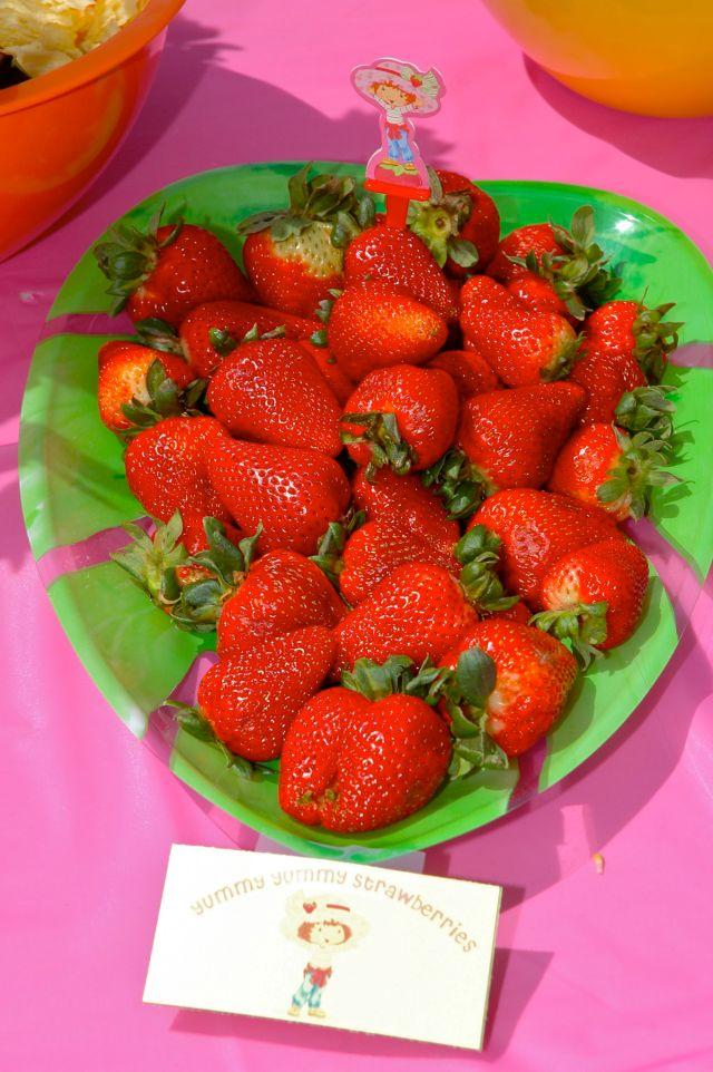Yummy Yummy Strawberries