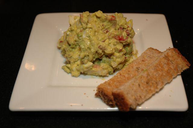 Lobster Salad or Seafood Salad