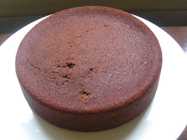 Bittersweet Chocolate Ganache Cake