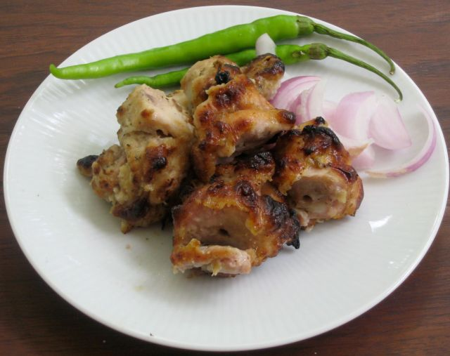 chicken tikka kababs