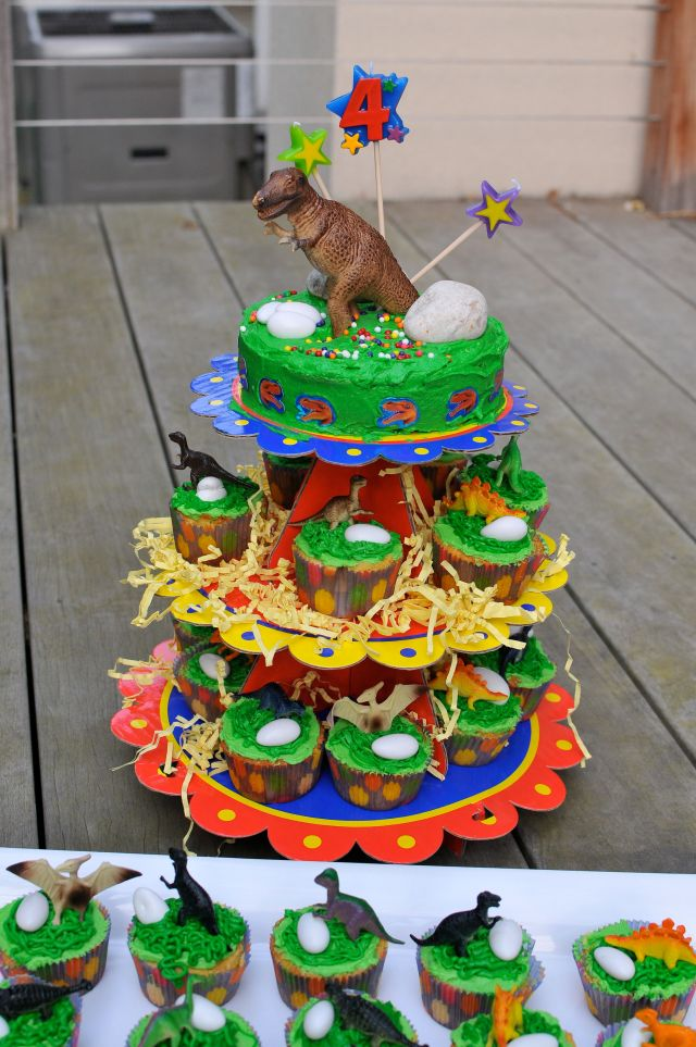 boys dinosaur birthday cakes | The Restaurant Fairy's Kitchen™