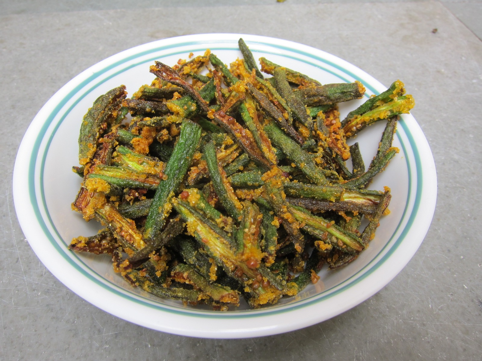 Okra Fry Recipes