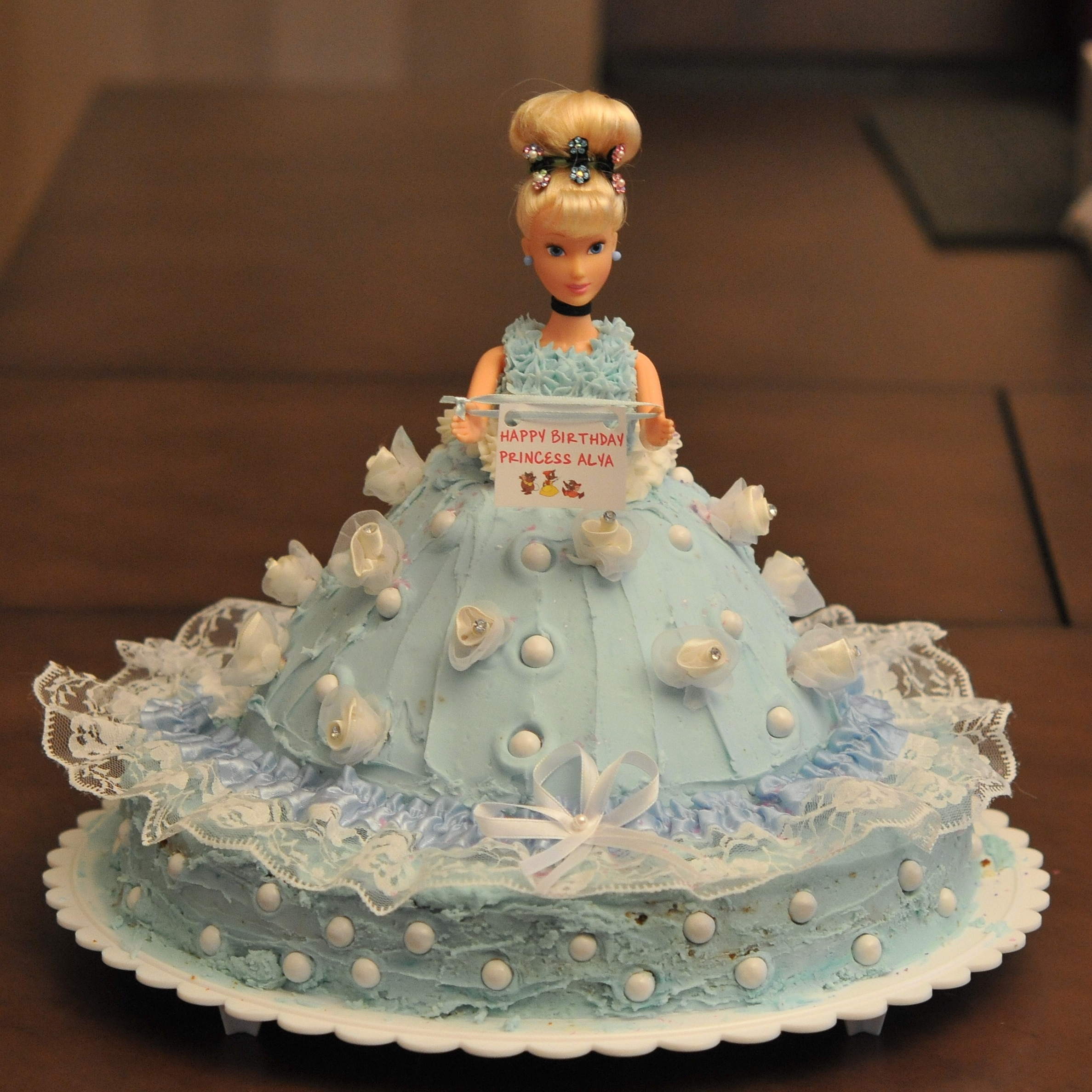 Easy cinderella cake the restaurant fairy 39 s kitchen