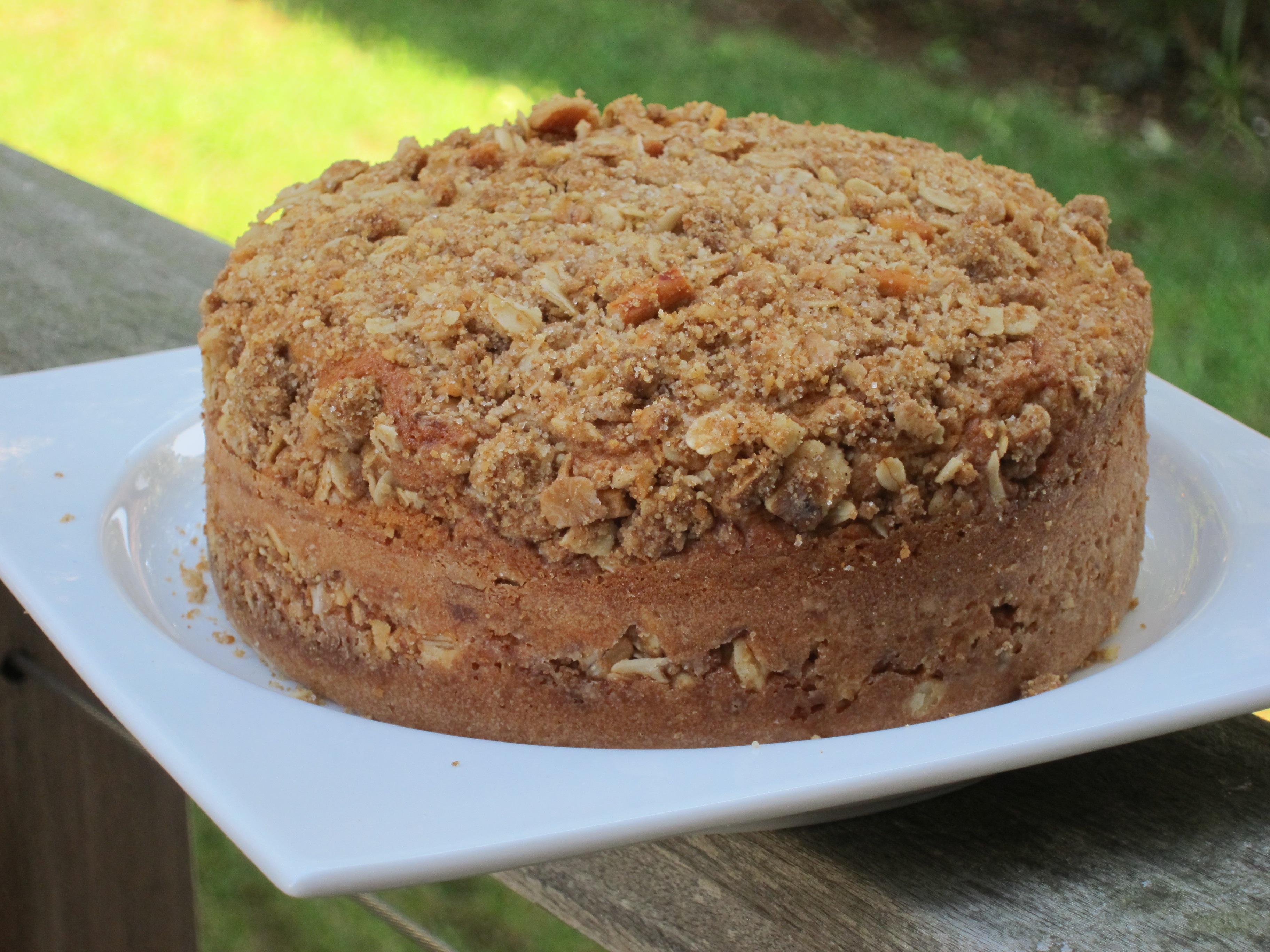 recipe: buttermilk streusel coffee cake [1]