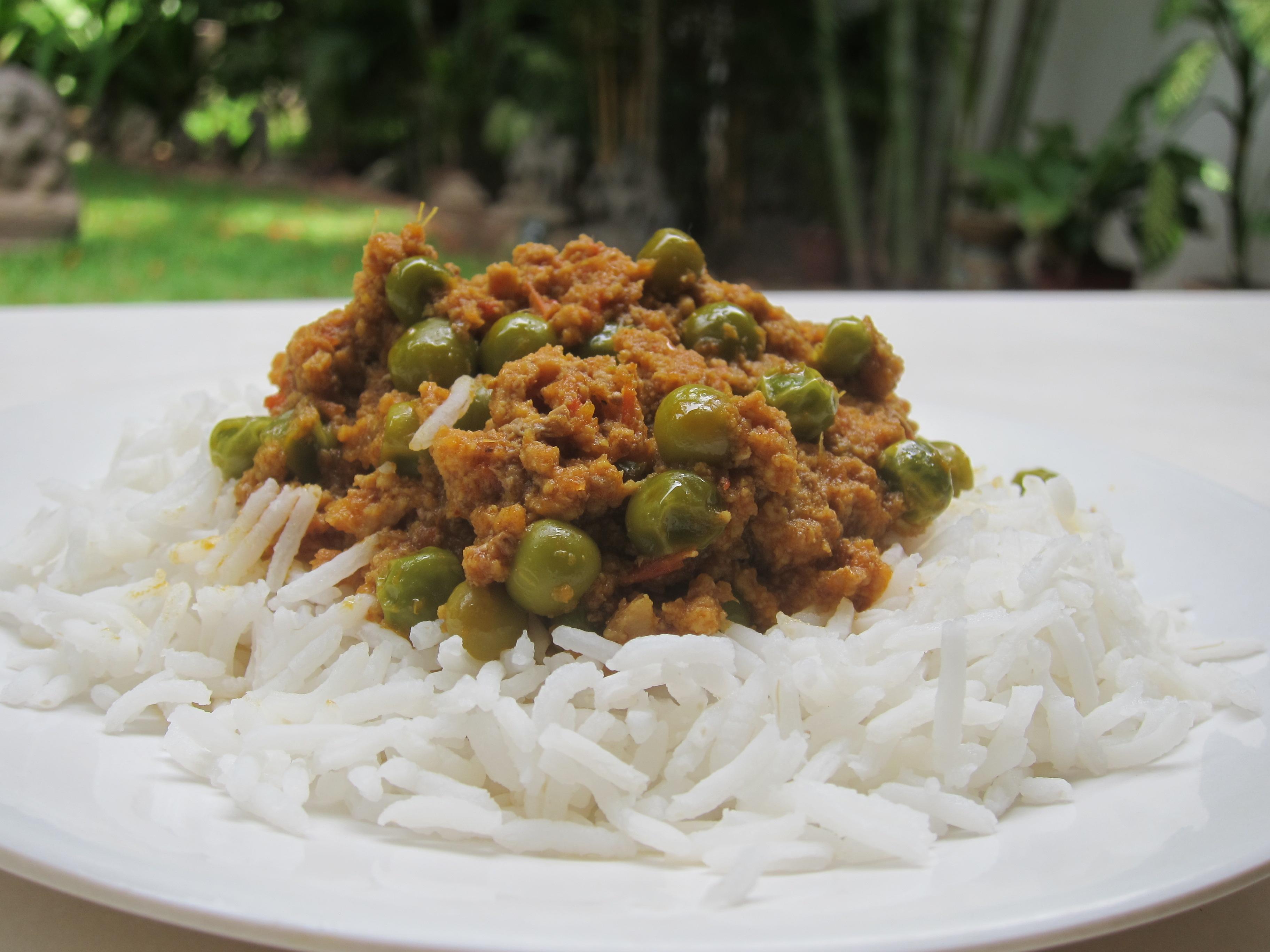 Keema Mattar (Ground Meat with Peas) | The Restaurant Fairy's Kitchen ...