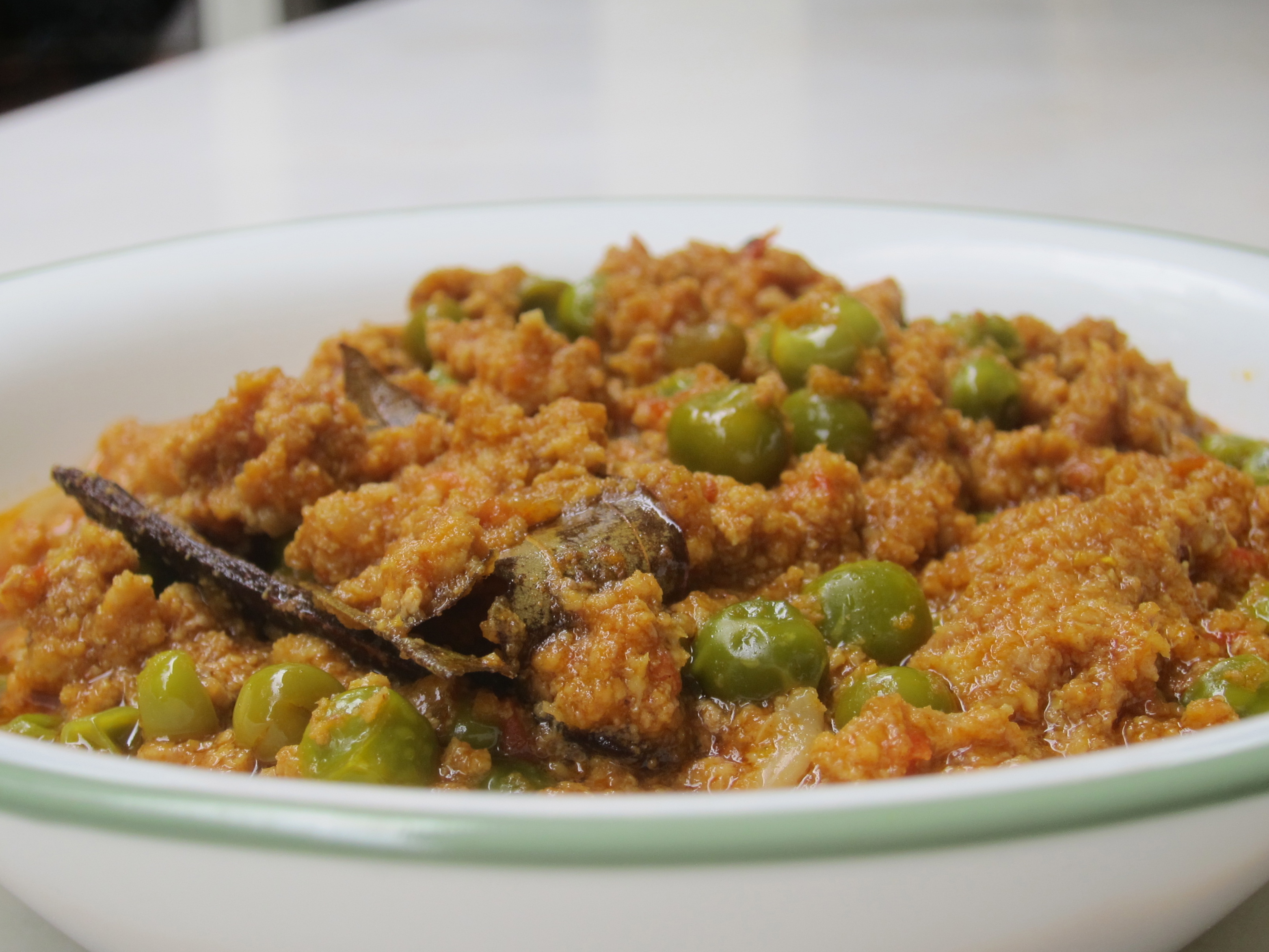 Keema Mattar (Ground Meat with Peas) | The Restaurant Fairy's Kitchen ...