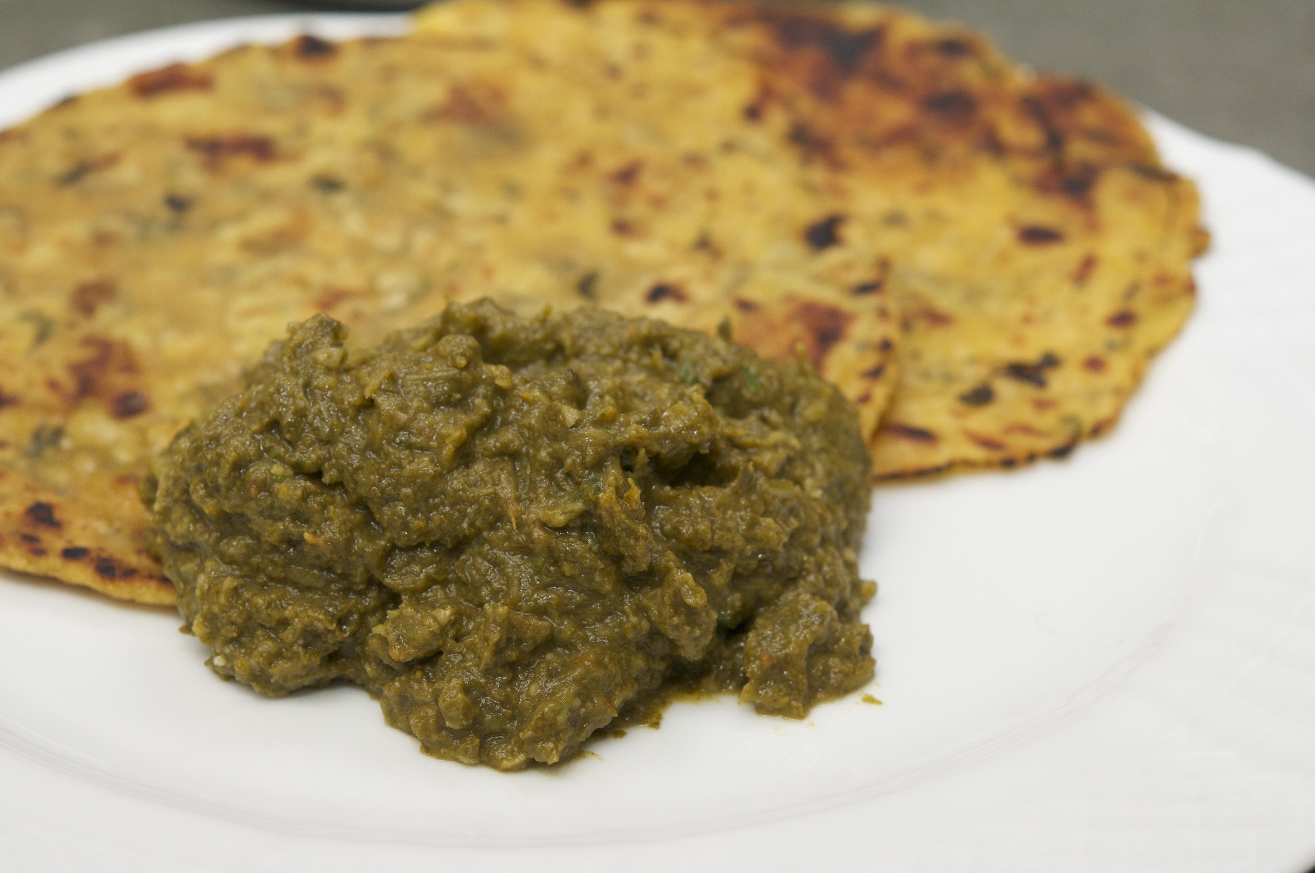 Spinach with mustard greens sarson ka saag the restaurant spinach with mustard greens sarson ka saag forumfinder Gallery