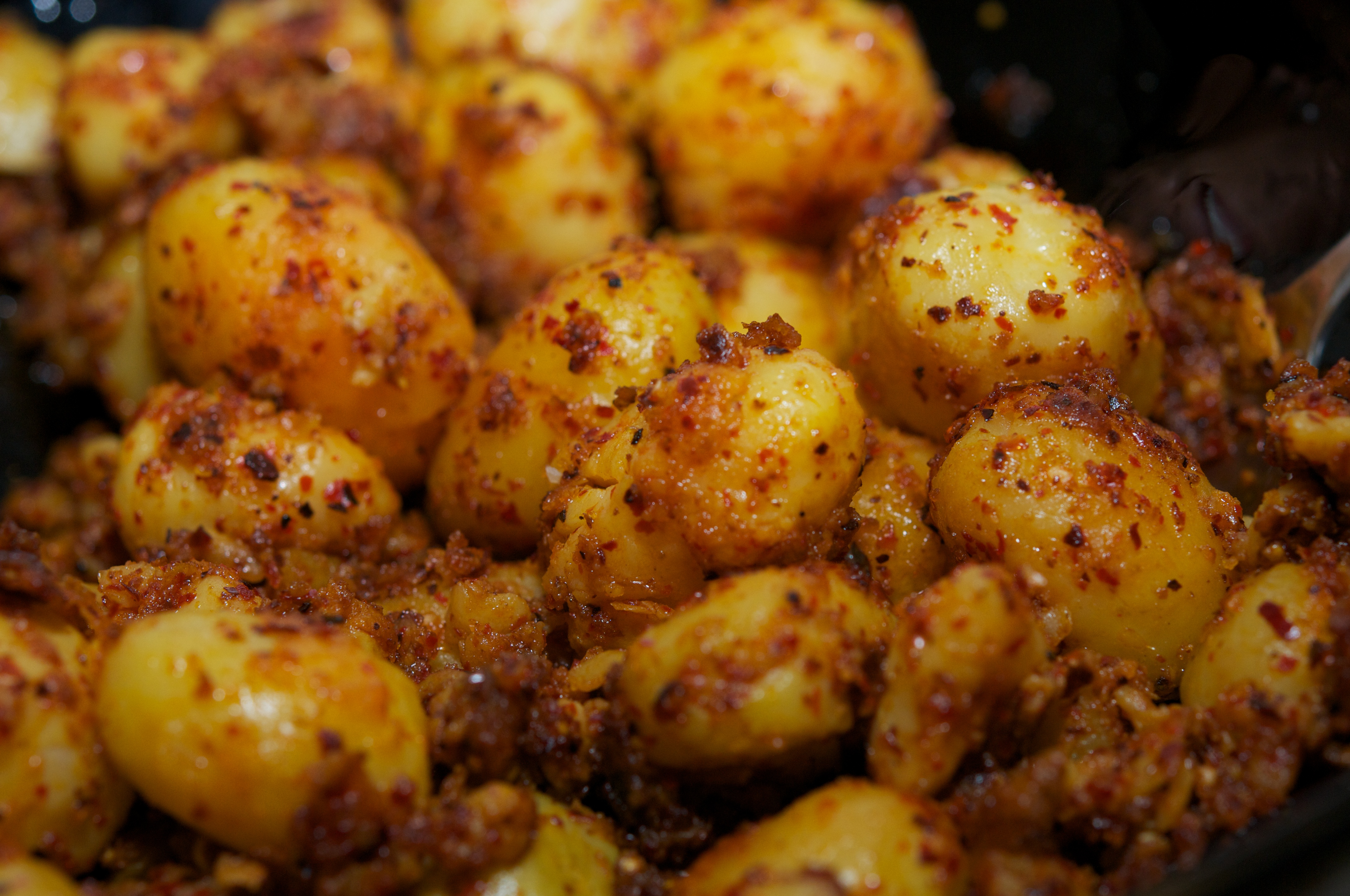 Indian spicy potatoes recipe the restaurant fairys kitchen dsc0634 forumfinder Choice Image