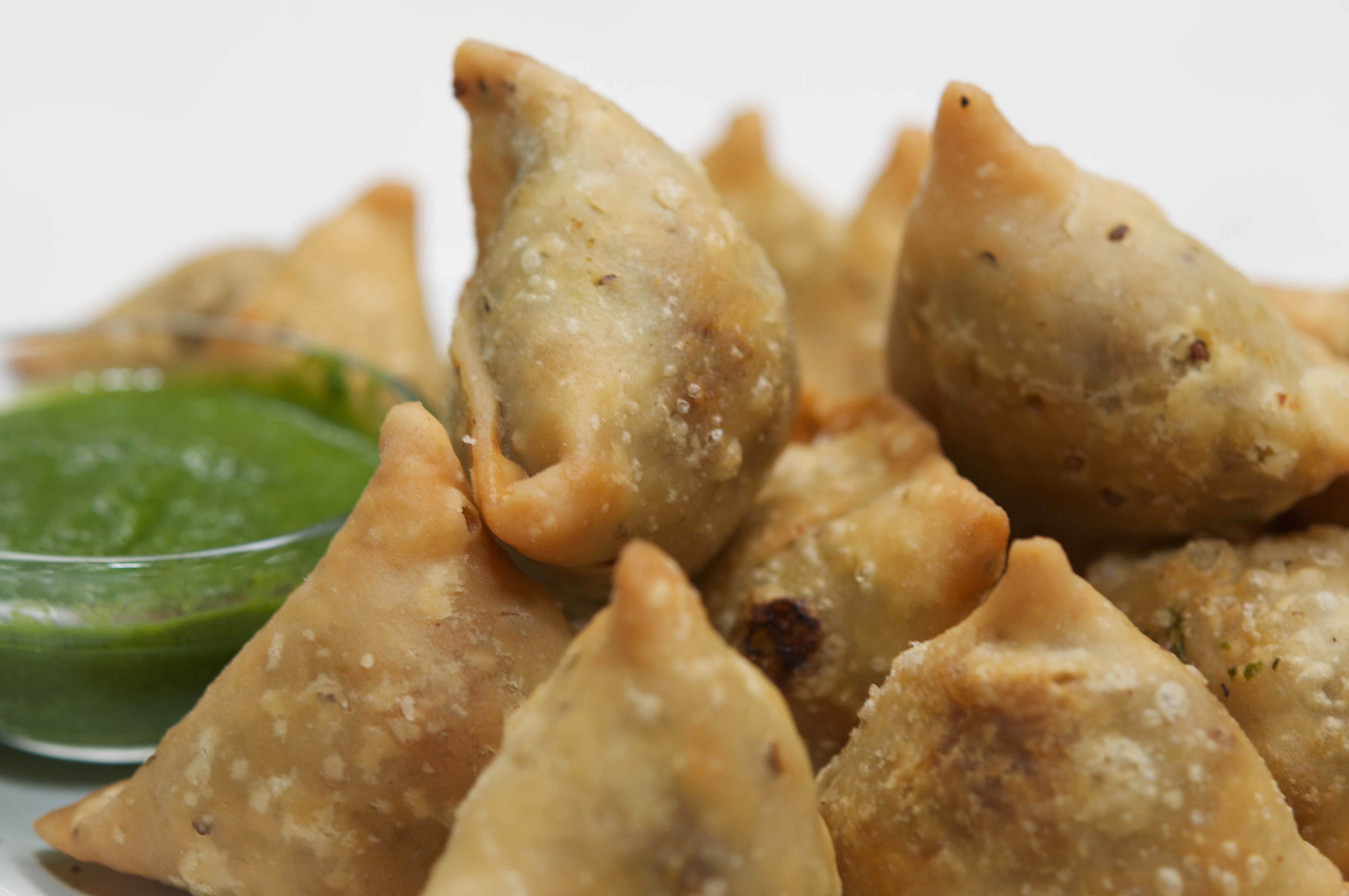 healthy recipe for mushroom samosa vegetable Indian | The ...