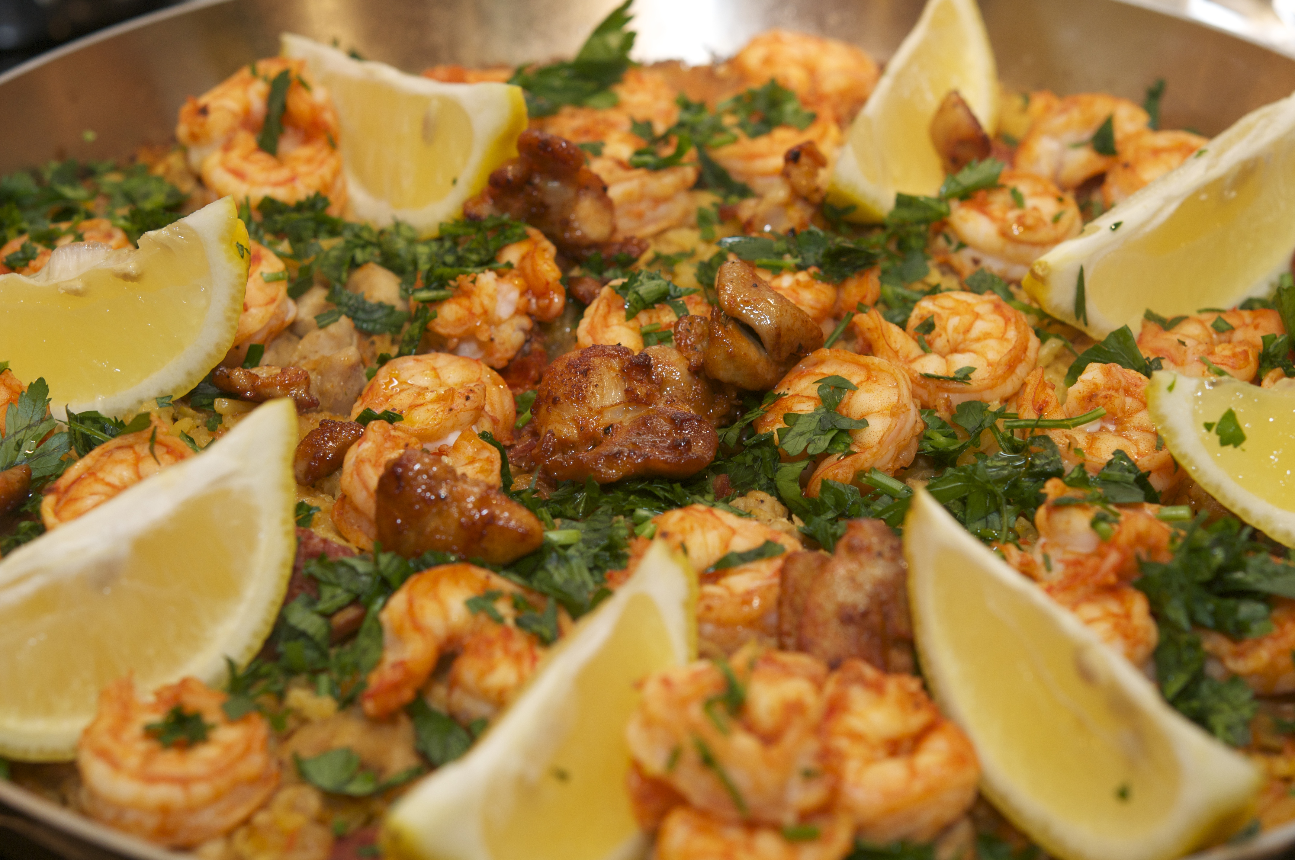 Paella Mixta (Paella with Seafood and Meat) | The Restaurant Fairy's ...