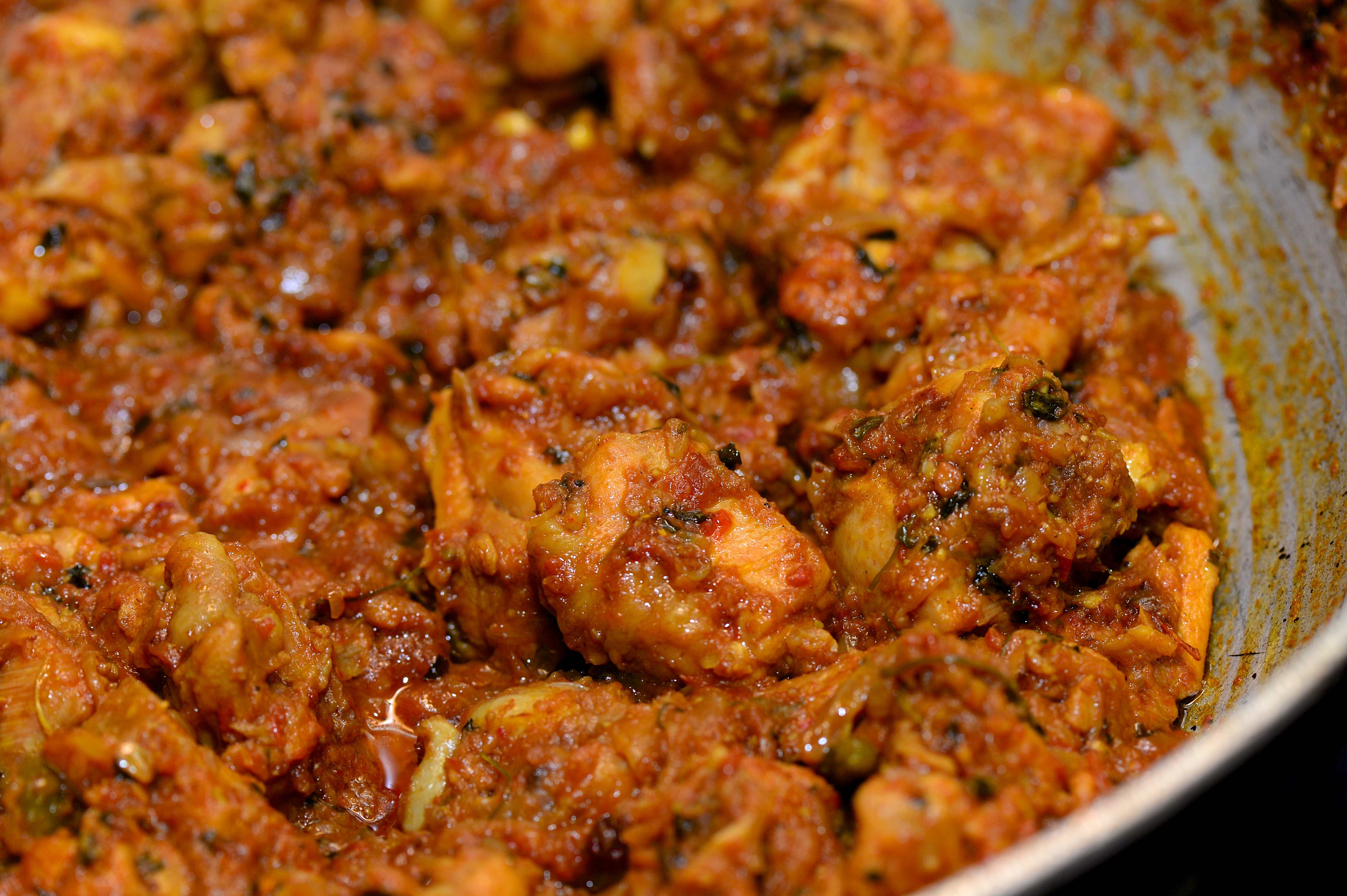 Recipe dry indian chicken curry the restaurant fairys kitchen yoz9241 forumfinder Choice Image